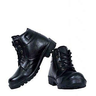 ba20dbc400a Elvace Mens Black Lace-up Boots