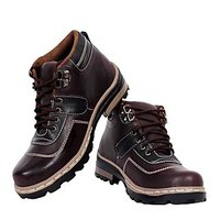 Elvace Chocolaty-brown Snow Boot-5012
