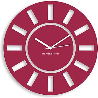 Blacksmith Kitchen Wall Clock Lilac