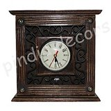 Watches Watch Wall Clock Time Wooden Antique Hanging Home Decor Gift Item Office