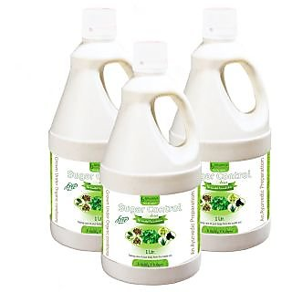 SUGAR CONTROL JUICE (SUGAR FREE) JUICE 1 LTR. (COMBO PACK OF THREE)
