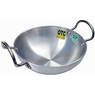 Kadhai 3.8 Liters - 28 cm OTC Aluminium  Kadhai / Kadai with Handle
