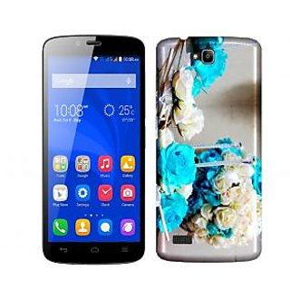 Trilmil Premium Design Back Cover Case for Huawei Honor 3C PRTHH3CA00311