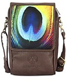 Superb Peacock Feather  Sling Bag