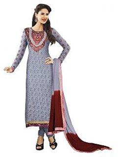 Long Straight Salwar Suit