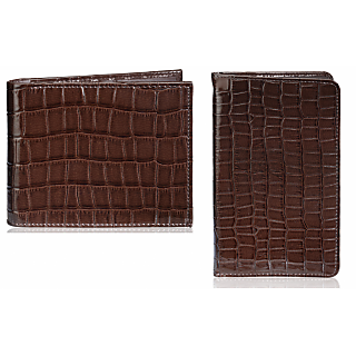 Rico Sordi Leather Wallet & Leather Pasport Holder(Design 17)(Rsmw_38_W_40_Wph_45)