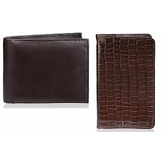 Rico Sordi Leather Wallet & Leather Pasport Holder(Design 20)(Rsmw_39_W_41_Wph_45)