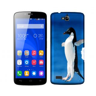 Trilmil Premium Design Back Cover Case for Huawei Honor 3C PRTHH3CA00461