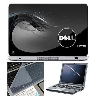 FineArts Laptop Skin 15.6 Inch With Key Guard  Screen Protector - Dell XPS