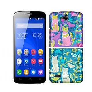 Trilmil Premium Design Back Cover Case for Huawei Honor 3C PRTHH3CA00282