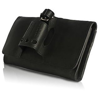 Craft Concepts Cheshe Black Clutch