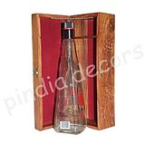 Wood Bottle Box Wine Beer Chest Case Boxes Gift Private Alcohol