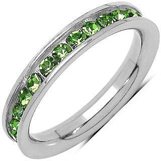 Green American Diamond Ring