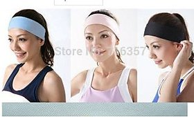 Yoga sports head bands 3 pieces for woman also used as beauty parlour head bands