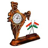 """ Indian Watch India Car Home Decor Gift Wooden Table Christmas Desk Office Wood """