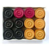 Professional Carrom Coins Set+2 Strikers+Disco Powder Absolutely Free