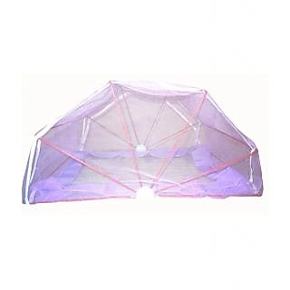 ans mosquito net 3x6  single bed purple
