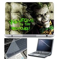 FineArts Laptop Skin Welcome To The Mad House With Scre