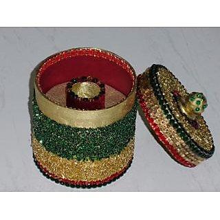 Beautiful Card Board Jewellery Box Multicolor