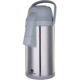 Peacocks Air Potgrey Stainless Steel 2.5 L Flask