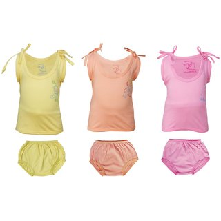 Buy New Born Baby Dress Set 3 6 Months Baby Boy Girls