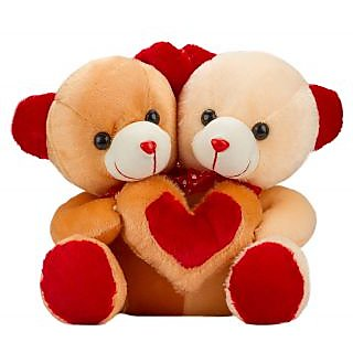 Glitter's Made for Each Other Teddy Cream-Brown(18 inch)