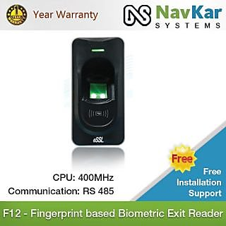 F12 - Fingerprint based Biometric Exit Reader