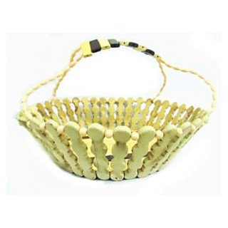 Onlineshoppee Wooden Flower and Fruit Basket