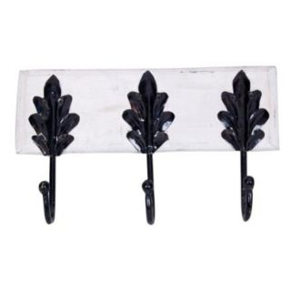 Wooden Handicraft Wall Decor Cloth Hanger and Coat Hanger With 3 Hooks
