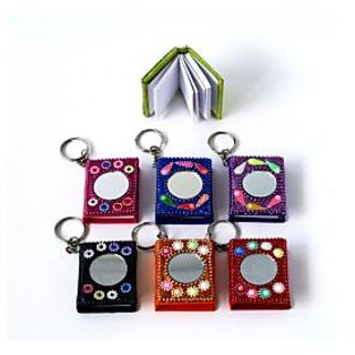key chain with mirror
