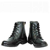 Elvace Mens Black Slip on Boots