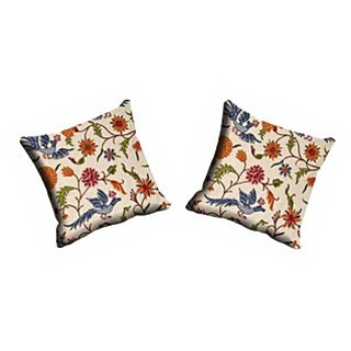 Multi Flower Cushion Cover (CDEK-07-2)