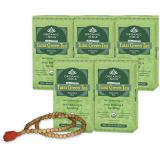 Organic India TULSI GREEN TEA Plus Tulsi Mala Free Stress Relieving & Energizing