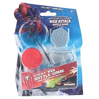 Spiderman Sticky Web Battle Game - Red