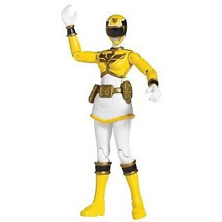 Power Rangers Megaforce Yellow Ranger Action Figure - 4