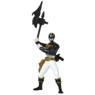 Power Rangers Battle Morphin Black Ranger Action Figure - 6.5
