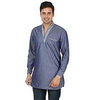 Adhaans Elegant Blue Designer Kurta