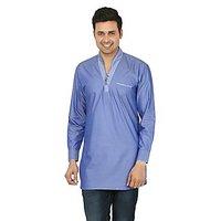 Adhaans Stylish Blue Designer Kurta