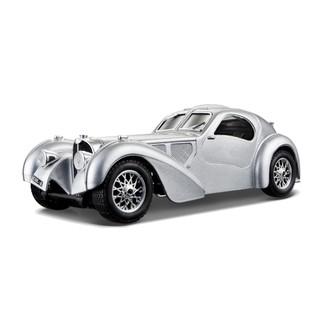 Bburago 1:24 Scale Diecast Bugatti Atlantic - Silver
