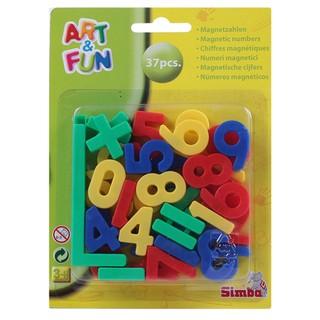 Simba Art & Fun Plastic Magnetic Numbers -37 Pieces