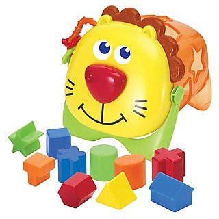 B-Kids Jungle Friends Shape N' Sort Toy