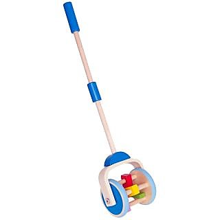 Hape Wooden Lawnmower Push and Pull Toddler Toy