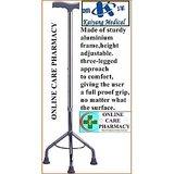 Kaiyang,IMPORTED 3 Legs Walking Stick (sturdy Aluminium Frame,height Adjustable)