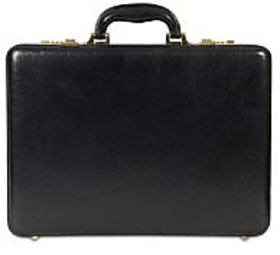 Stamp Leather BC033BK- Briefcase