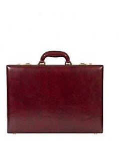 Stamp Leather Elegant Leather Men Suitcases BC044TN