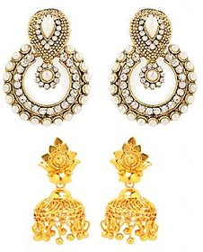 GoldNera Gold Plated Gold Plastic Hangings For Womens