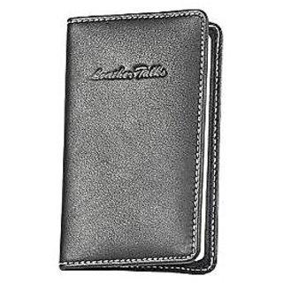 Leather Talks Handy 2 Notebook Black Lt/Nb/002