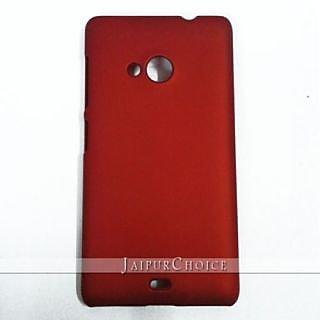on sale f0de1 ba333 KolorEdge Back Cover for Microsoft Lumia 535 - Red