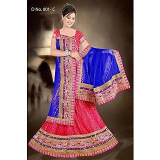 Shaym-Ratna Studio Fashion Suman Bridal Lehengas Product Code.001-C