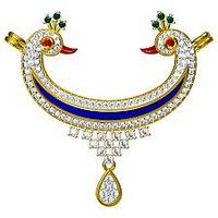 PANSY'S TRADITIONAL MANGALSUTRA PENDENT IN 925 SILVER